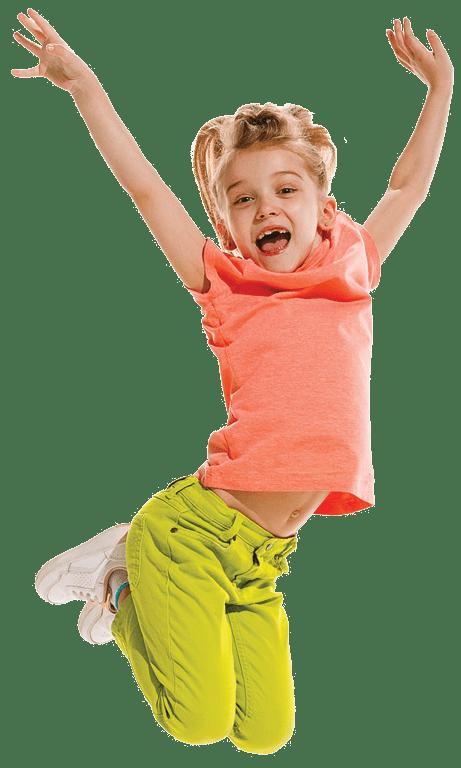 bouncy castle girl
