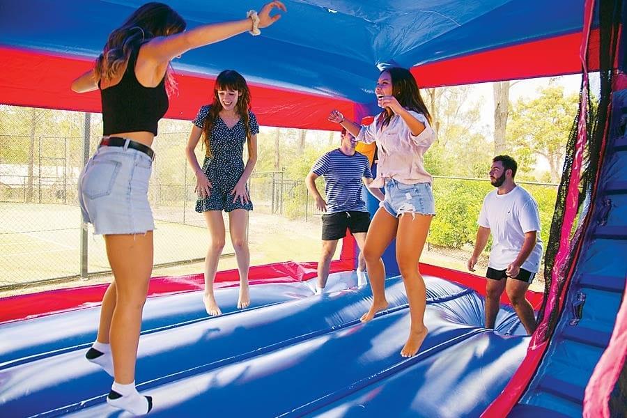 bouncy castle hire gold coast teens