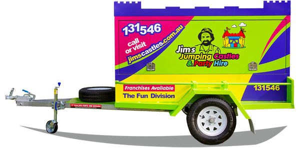 Bouncy Castle and Party Hire Trailer